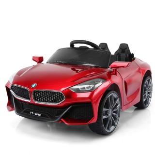 Ô tô xe điện trẻ em BMW YT-6688 tự lái và remote 2 chỗ 2 động cơ 6V45AH bảo hành 6 tháng (Đỏ-Xanh-Trắng) thumbnail