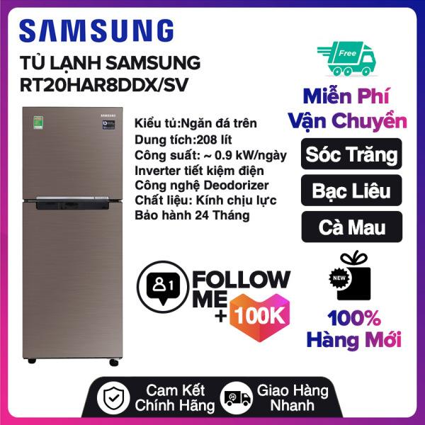 Bảng giá Tủ lạnh Samsung Inverter 208 lít RT20HAR8DDX/SV Miễn phí vận chuyển nội thành Sóc Trăng, Bạc Liêu, Cà Mau Điện máy Pico