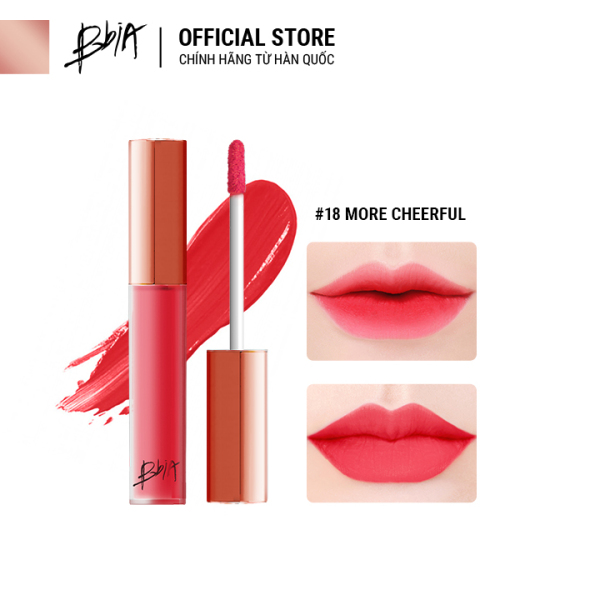 [Chọn Màu] Son kem lì Bbia Last Velvet Lip Tint version 4 5g ( 5 Màu ) giá rẻ