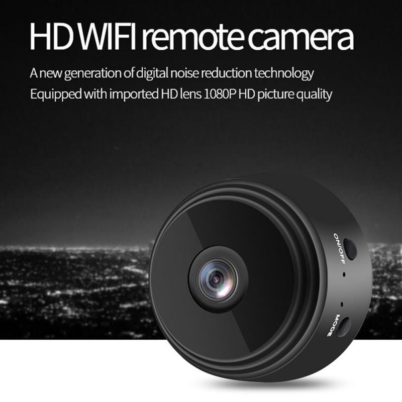 Camera Mini EFdikou A9, Màn Hình Mạng IP WiFi Không Dây Camera An Ninh Camera P2P An Ninh Gia Đình HD 1080P, WiFi