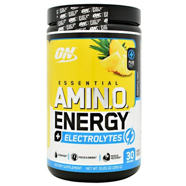 Optimum Nutrition Essential Amino Energy + Electrolytes, 30 servings 285g HSD T6/2020 cao cấp