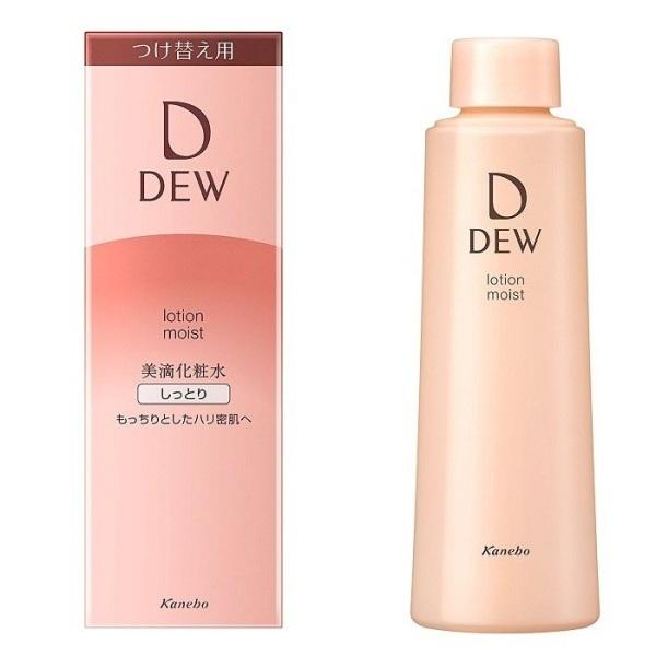 Refill - Nước hoa hồng chống lão hóa Kanebo DEW Lotion Moist (150ml) - Da thường giá rẻ