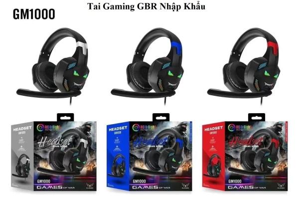 Bảng giá Tai nghe chụp tai gaming RBG nhập khẩu có míc nói voice dùng cho máy tính và điện thoại ( SIÊU BỀN ) Phong Vũ