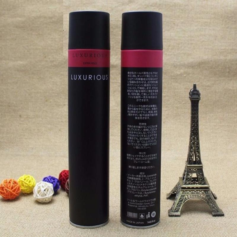 Gôm xịt tóc Luxurious 320ml - Keo vuốt tóc giá rẻ