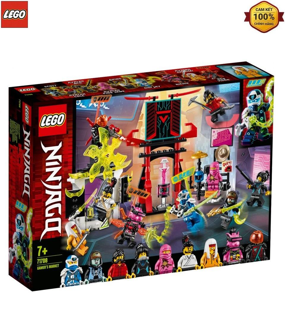 Mô Hình Lắp Ráp Lego Ninjago Sàn Đấu Game Thủ 71708