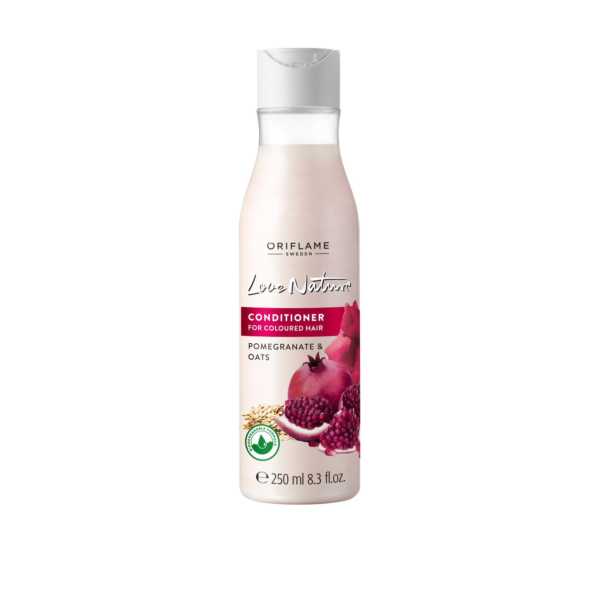 LOVE_NATURE CONDITIONER FOR_COLOURED POMEGRANATE & OATS cao cấp