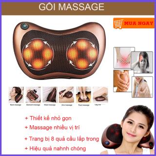 Gối Massage Hồng Ngoại, Gối Mát Xa Cổ, Gối Mát Xa Hồng Ngoại. Máy massage đa năng công nghệ nhật bản, xoay chuyển 360 độ giúp giảm đau nhanh chóng, xua tan mệt mỏi, BẢO HÀNH 1 ĐỔI 1, MIỄN PHÍ VẬN CHUYỂN thumbnail