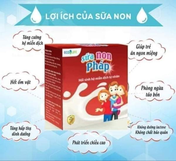 Sữa non Pháp Ecolife- Khiên đề kháng vững chắc cho bé và mẹ bầu