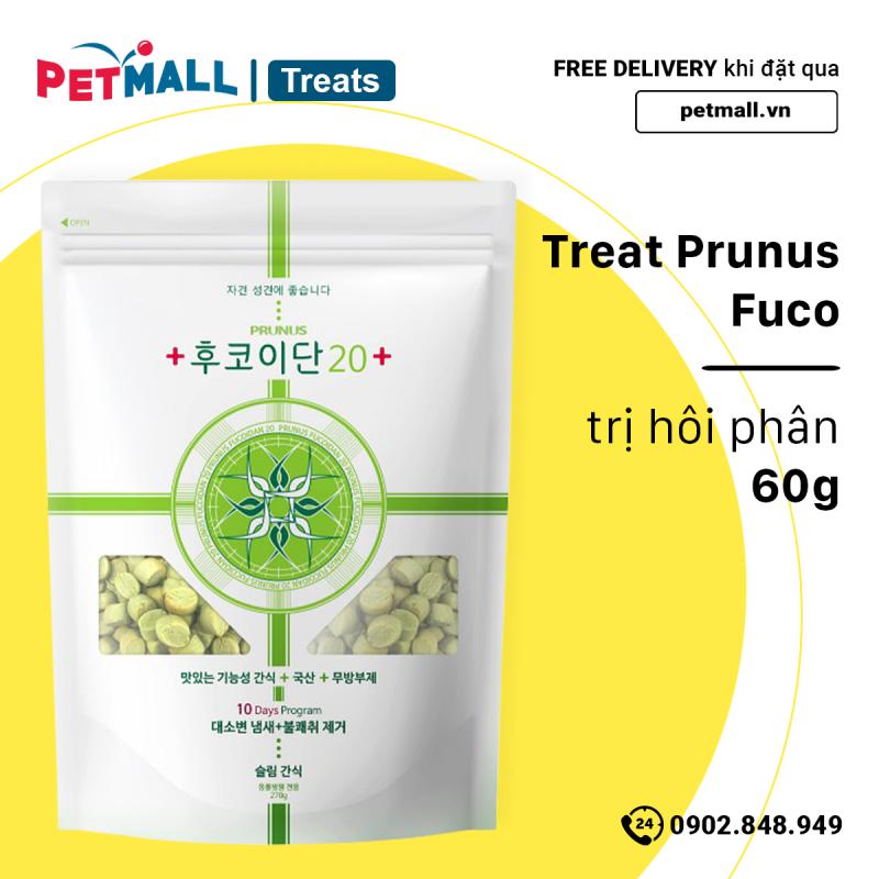 Treat Dr.Healmedix Fuco 60g - hỗ trợ hôi phân petmall