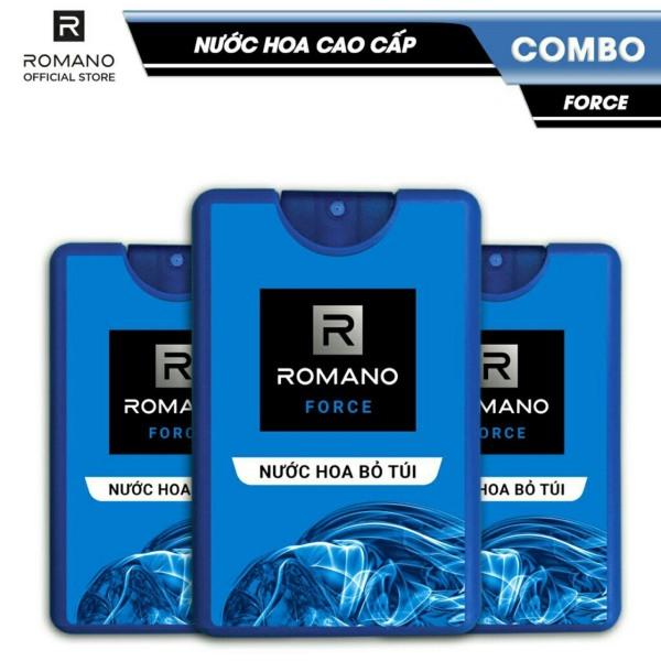 Nước hoa bỏ túi cao cấp Romano Force 18ML