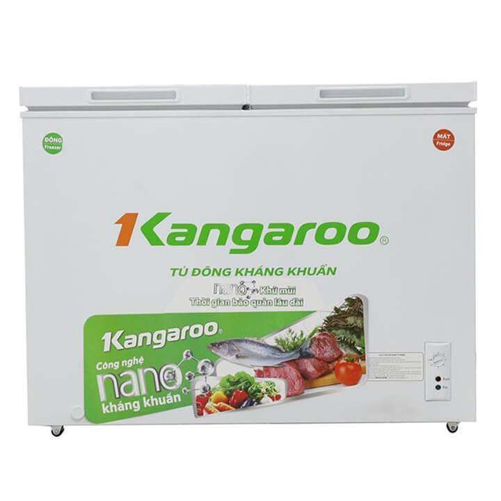 Tủ đông kháng khuẩn Kangaroo 418L 2 ngăn, 2 cánh KG418C2