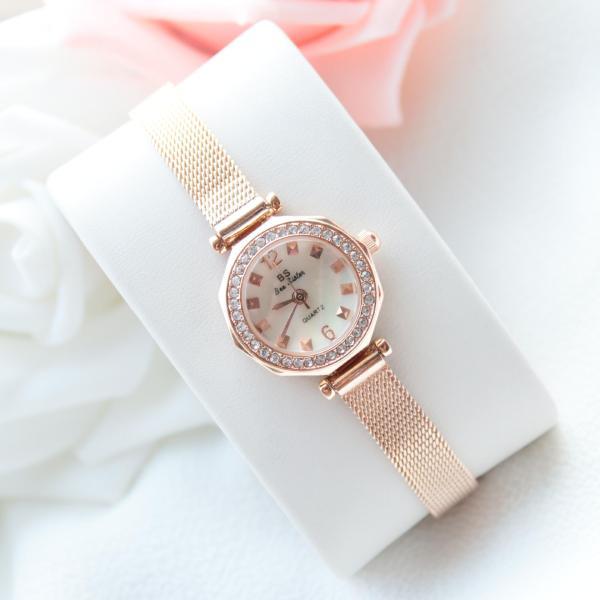 Đồng hồ nữ BS Bee Sister FA1419 đính đá thời trang