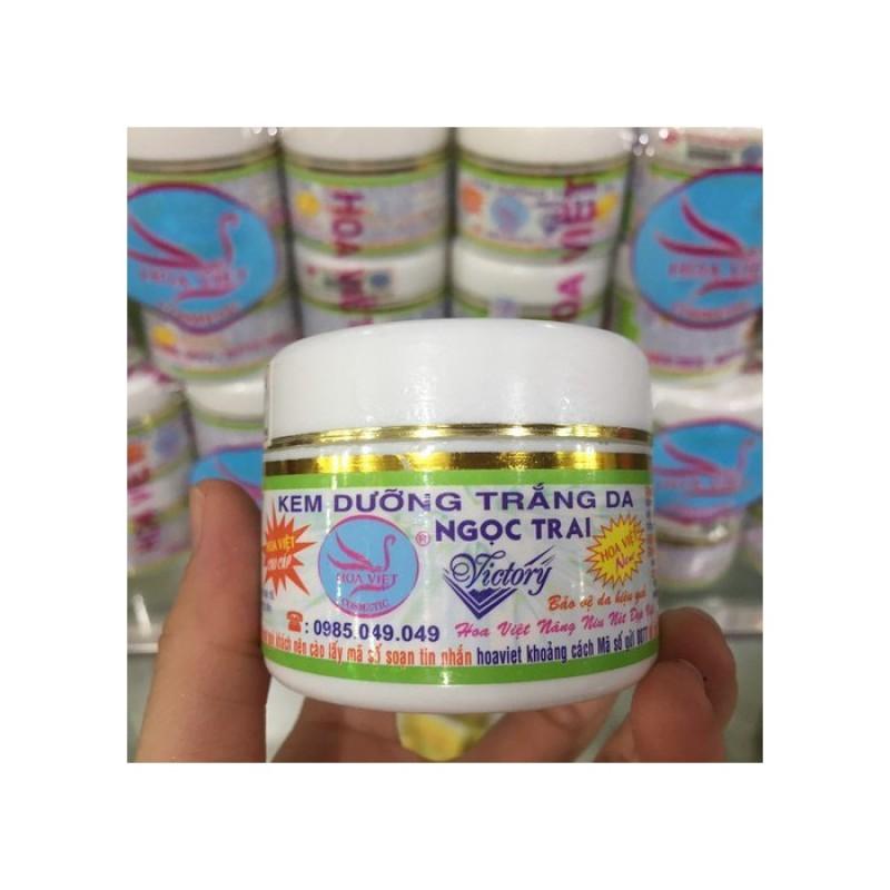 [HCM]Kem Dưỡng Trắng Da Ngọc Trai Hoa Việt 15g