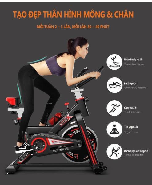 Xe đạp tập thể dục Air Bike xe đạp tập thể thao trong phòng tập  khí tài trong phòng tập