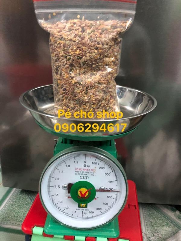 Đậu hạt Trộn 6 loại giá rẻ cho gà,chim,hamster...