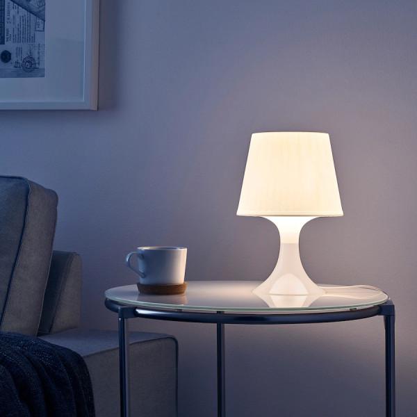 Đèn Bàn LAMPAN IKEA - Đèn Ngủ, Đèn Đọc Sách - Đường kính 19cm