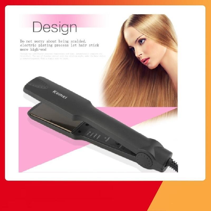 Máy Làm Thẳng Tóc Máy ép thẳng tóc Máy duỗi tóc đa năng 4 Mức Chỉnh Nhiệt Kemei KM 329 tạo kiểu tóc mini, máy ép tóc mini, máy làm tóc mini , máy làm tóc đa năng mini ,máy làm xoăn tóc mini ,kẹp tóc đa năng mini, máy làm tóc cao cấp