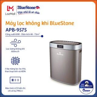 Máy Lọc Không Khí BlueStone APB-9575 - Có 3 Lớp màng lọc ( Lọc thô, than hoạt tính, HEPA ) - Công suất 65W - Lưu lượng không khí 600m3 h - Độ ồn 64dB - Bảo hành 24 tháng- Hàng Chính hãng thumbnail