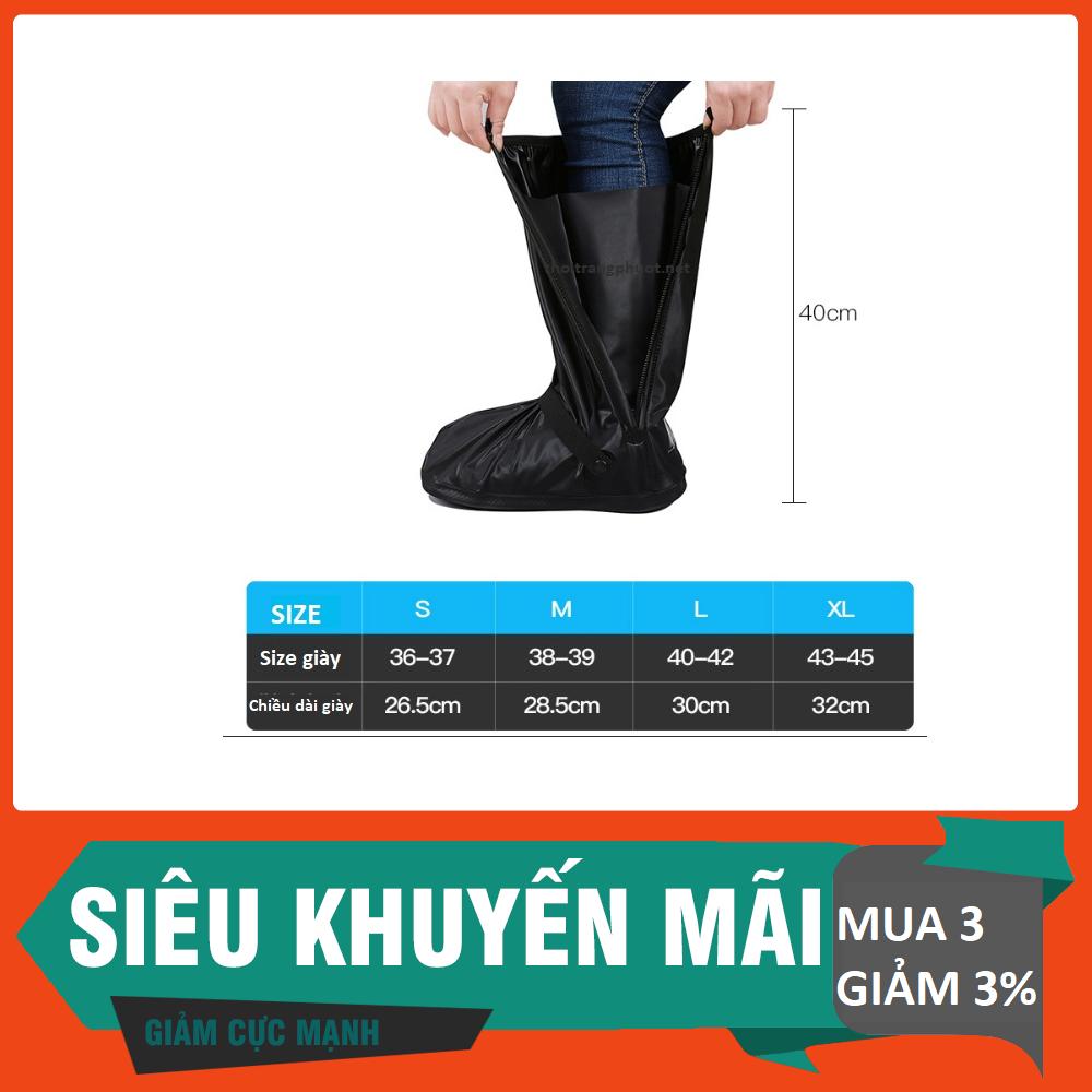 [HCM]Bọc giày đi mưa ủng đi mưa giày đi mưa chất lượng