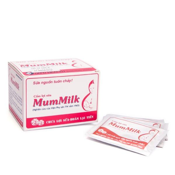 Cốm lợi sữa Mummilk - giúp sữa về nhanh, tăng chất lượng sữa mẹ - Hộp 20 gói
