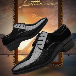 Giày da nam công sở da cao cấp thiết kế cách điệu cá tính - Thiết kế Hottrend TOPEE TG09 thumbnail
