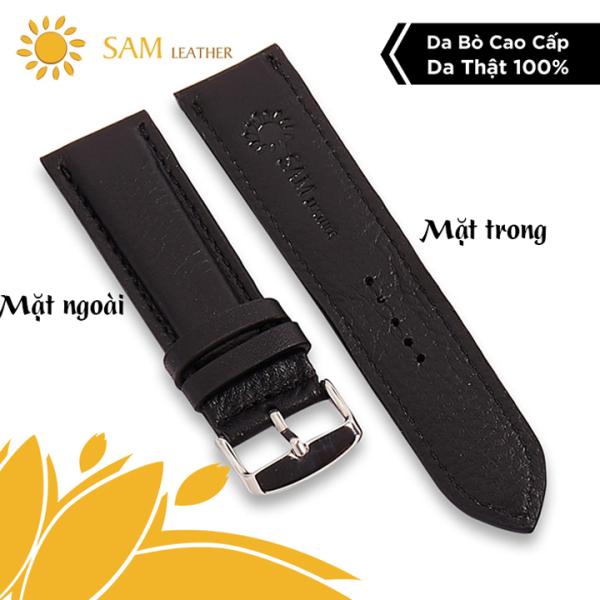 [ SAM Leather ] Dây Đồng Hồ Da Bò – Dây Da Đồng Hồ SAM – Da Bò Thật Bảo Hành 12 Tháng Chính Hãng
