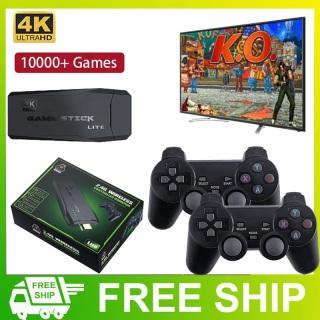 [ Tặng Thẻ 32Gb ] Máy Chơi Game Điện Tử 4 Nút Game Stick HDMI Ps3000, Tích hợp hơn 10000+ Game, Kết Nối Cổng HDMI 4K Ultra HD - Bảo Hành 12 Tháng thumbnail