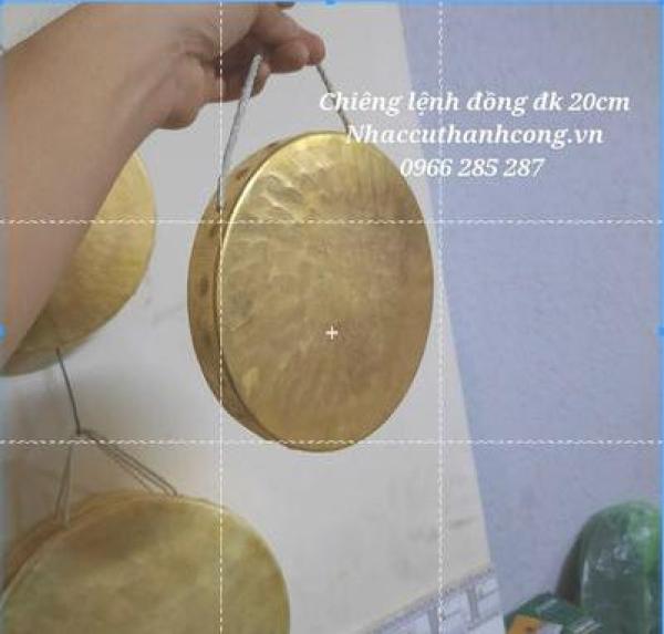 Lệnh đồng vàng đk20cm