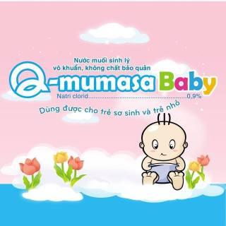Nước muối sinh lý vô khuâ n cho be Q-mumasa baby 1ml thumbnail