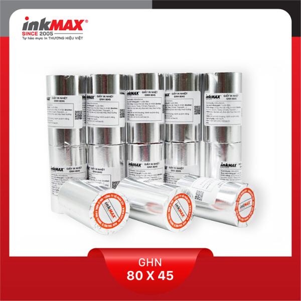 Mua ( Combo 50 cuộn ) Giấy in nhiệt K80x45 - Giấy in BILL - Giấy in hóa đơn - Hàng chính hãng inkMAX