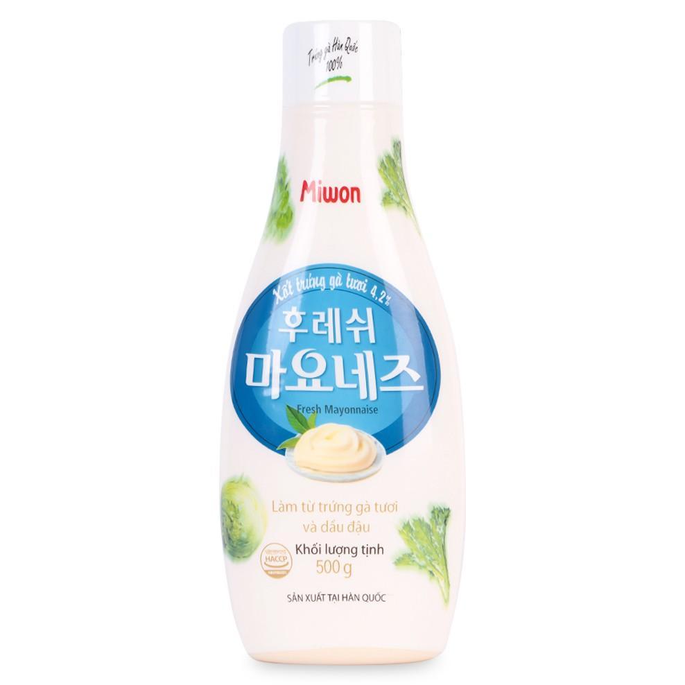 Xốt Mayonnaise để chấm món ăn, trộn salat rau củ quả, nhập khẩu Hàn Quốc 500G