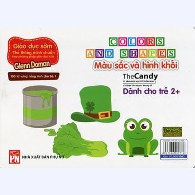 Mua Flashcard Dạy Trẻ Theo Phương Pháp Glenn Doman – Màu sắc và hình khối