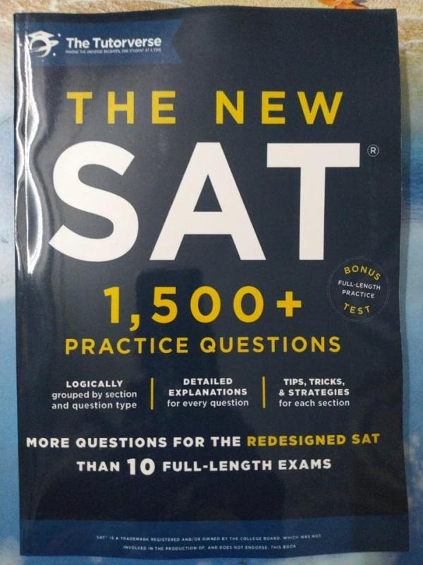 The New SAT: 1,500+ Practice Questions