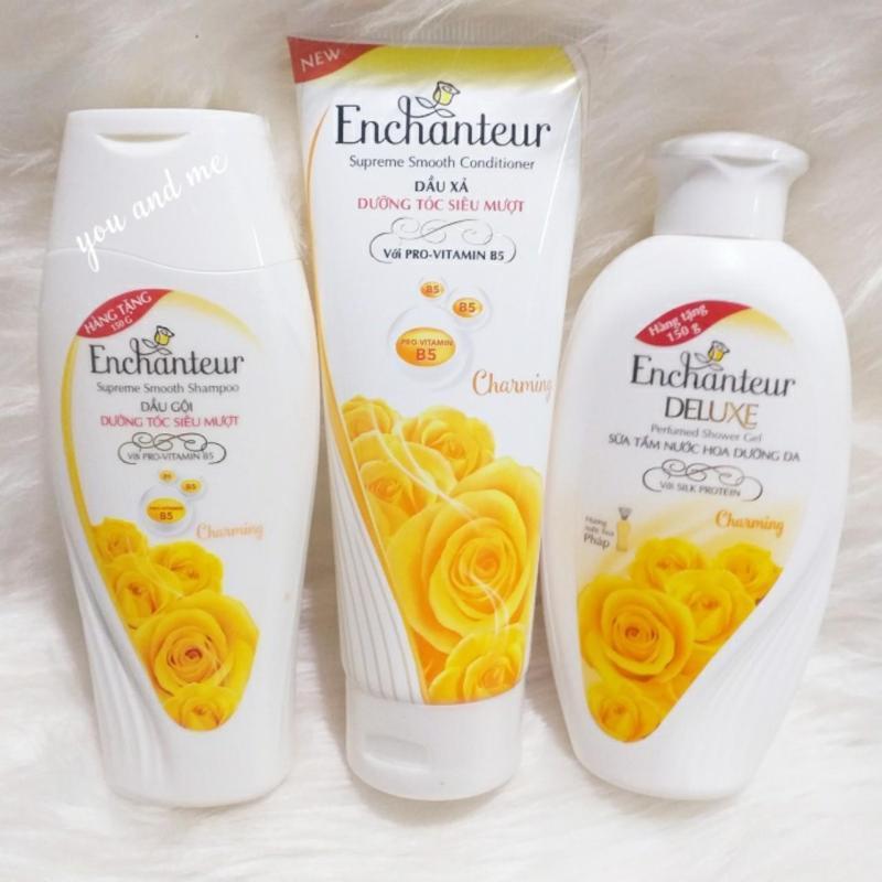 Combo tắm, gội , xả Enchanteur  Enchanteur Charming