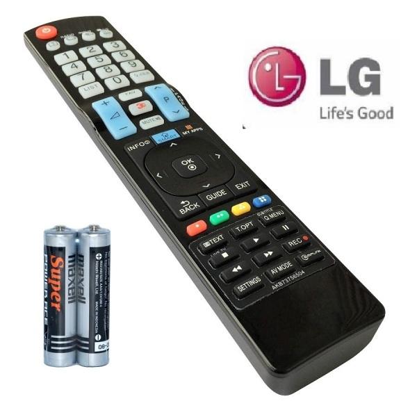 Bảng giá Remote Điều Khiển Dùng Cho Smart TV LG, Internet TV, TV Thông Minh LG AKB73756504 (Kèm Pin AAA Maxell)
