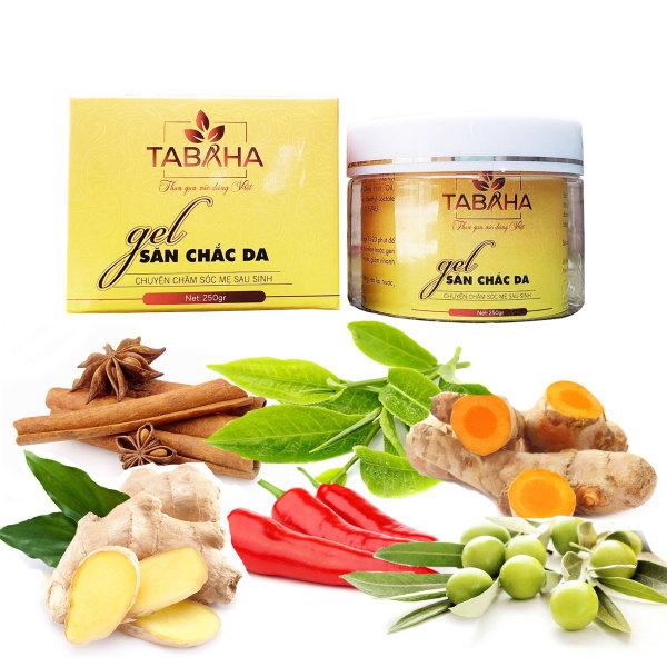 Kem tan mỡ bụng thiên nhiên TABAHA 250gr giúp giảm mỡ bụng đùi cánh tay giá rẻ