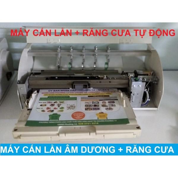 Bảng giá Máy cấn răng cưa kéo giấy tự động chạy tốt trên giấy carbonless Phong Vũ