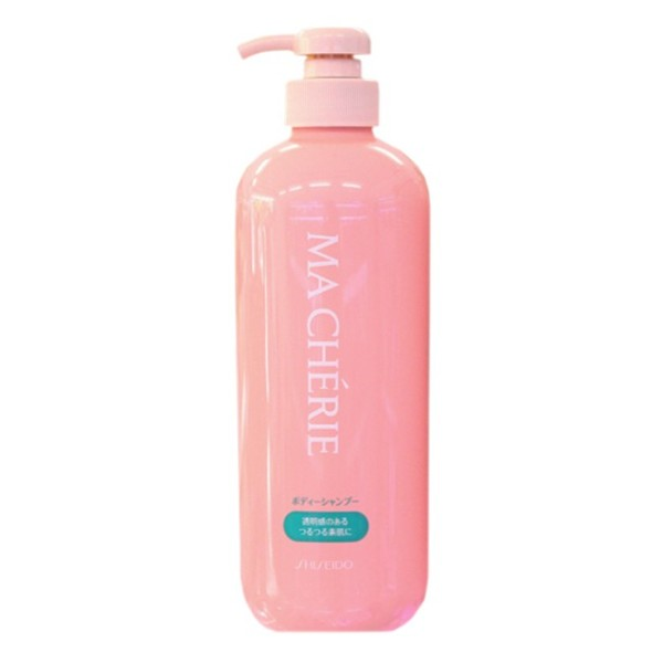 Sữa Tắm Shiseido Ma Chérie Dưỡng Ẩm Trắng Da 600ml Hương Nhẹ Nhàng Thơm Lâu