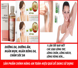 Combo Mỡ Trăn + Kem Tẩy Lông giảm bỏng mờ sẹo dưỡng trắng triệt lông tận gốc vĩnh viễn 100ml 100% nguyên chất, không chất bảo quản B orial Korea thumbnail