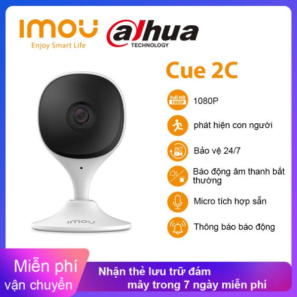 Camera IP Dahua Ilou Cue 2c 1080P, Camera Theo Dõi Em Bé, Camera Phát Hiện Con Người H265 Nhỏ Gọn Và Thông Minh, Camera Trong Nhà