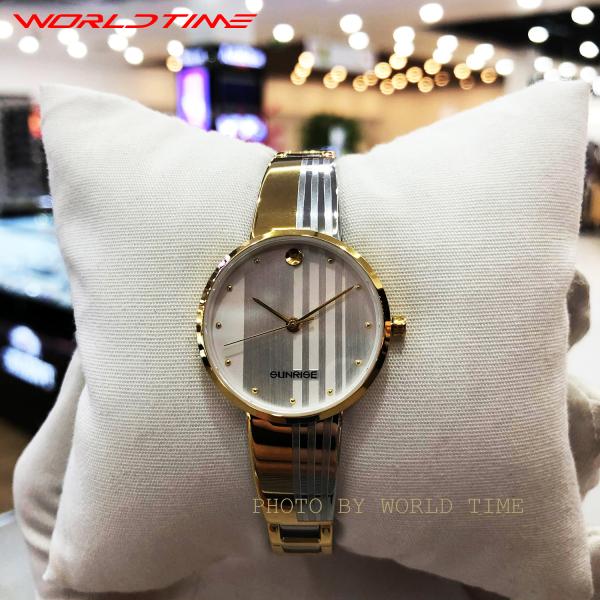 Đồng hồ nữ Sunrise 9925SA Full hộp, thẻ bảo hành 3 năm, Sapphire chống xước, chống nước