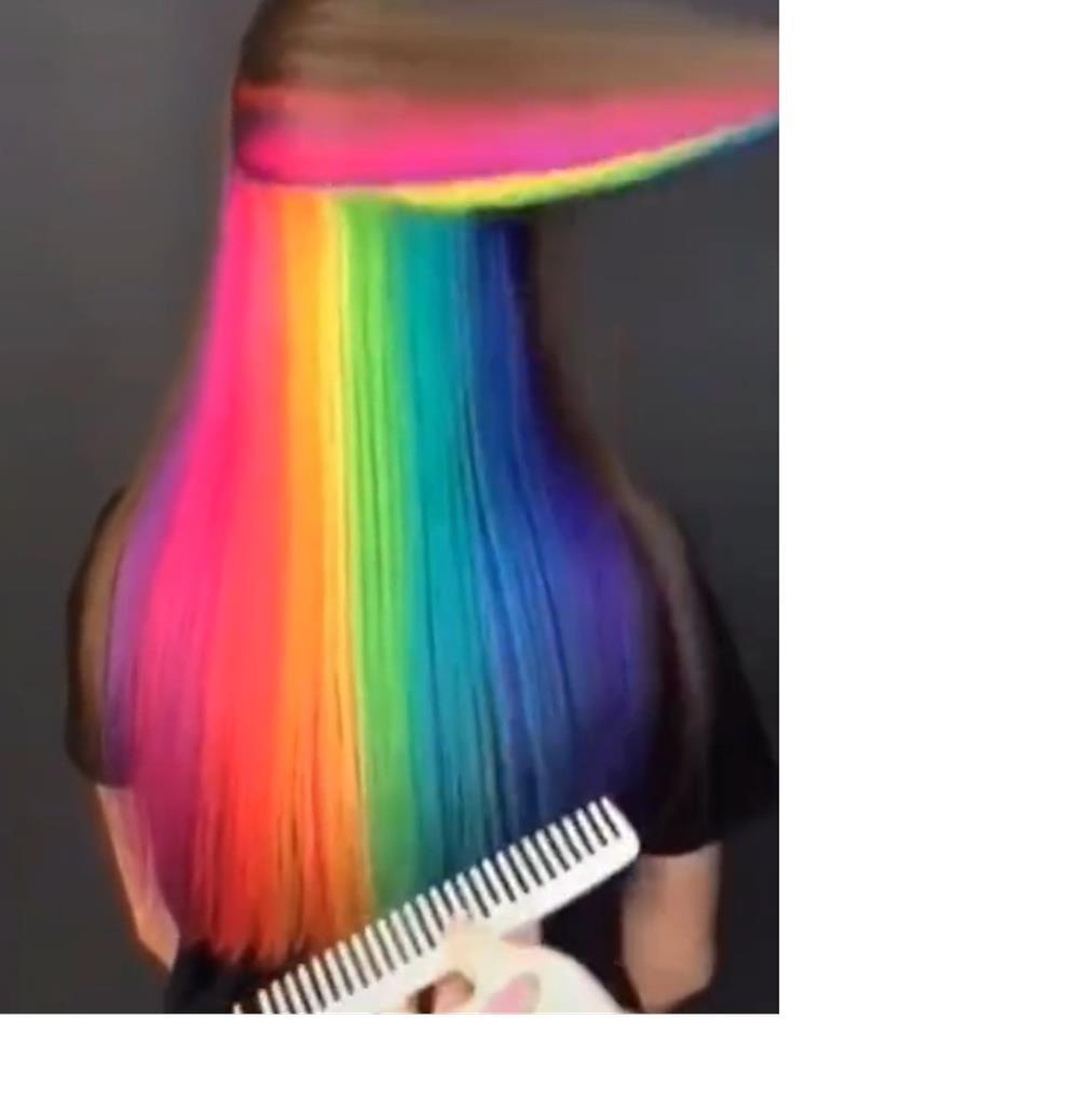 Lóng tóc nhuộm sẵn tiện dụng cao cấp