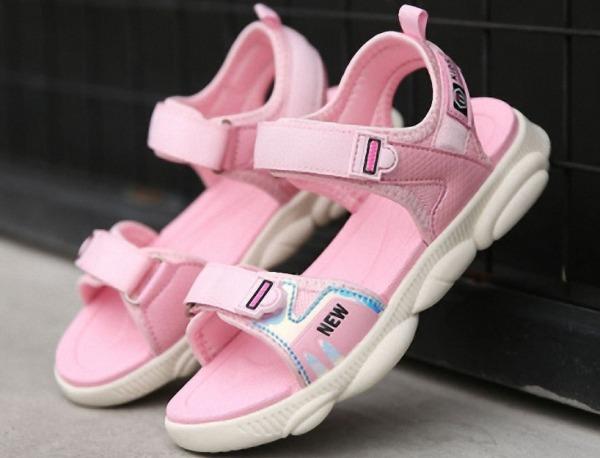 Giá bán Sandal bé gái 3 - 12 tuổi siêu nhẹ kiểu dáng Hàn Quốc - SD100