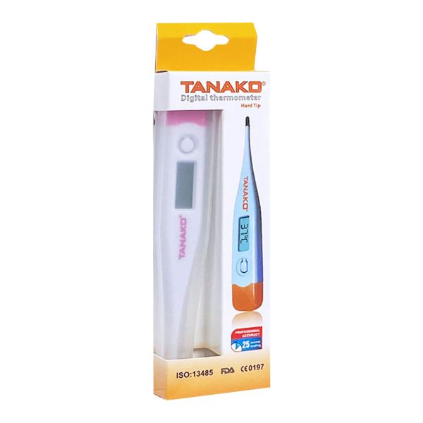 Nhiệt kế điện tử đầu cứng TANAKO - Máy đo nhiệt độ cơ thể cho kết quả đo nhiệt độ nhanh, an toàn và chính xác (Hộp 1 chiếc)