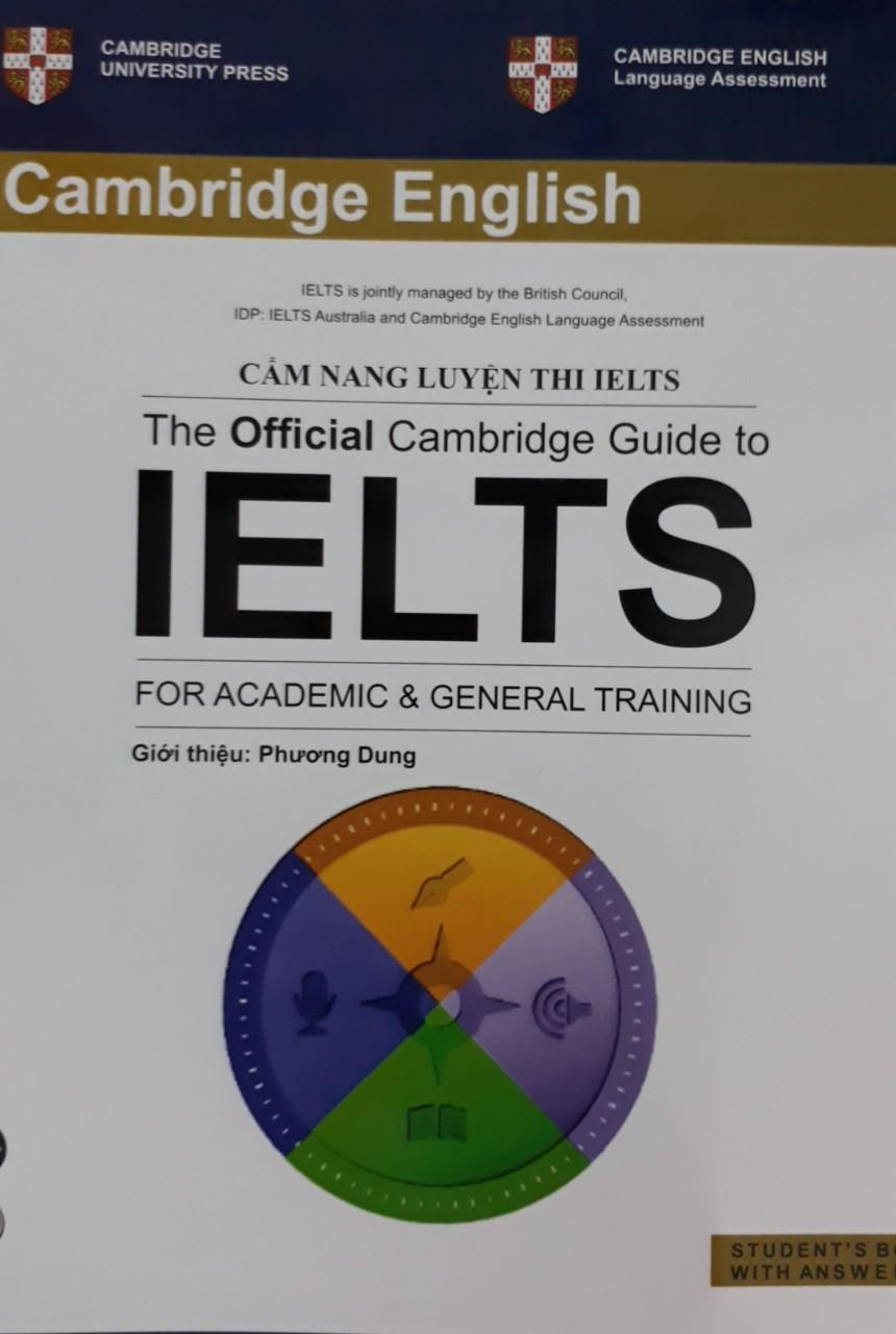 Cẩm nang luyện thi IELTS - The Official Cambridge Guide to IELTS for Academic & General Training