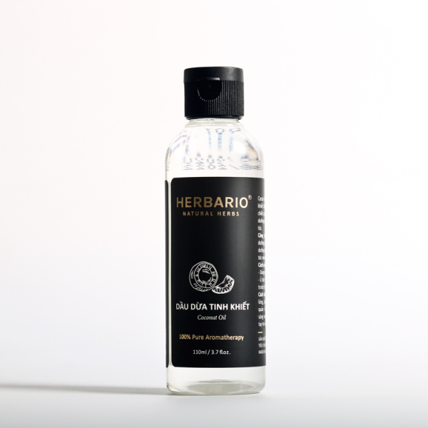 Dầu dừa Herbario nguyên chất 100% dưỡng tóc, dưỡng da (110ml) giá rẻ