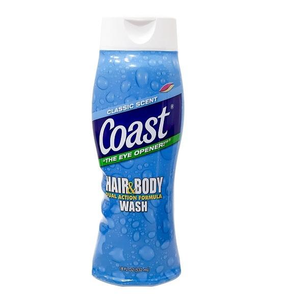 [HCM]Sữa Tắm Gội Coast Classic Scent Dành Cho Nam 532ml - USA cao cấp