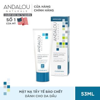 Mặt nạ làm sạch tế bào chết cho da dầu Andalou Naturals Clear Skin Kombucha Enzyme Exfoliating Mask 53ml thumbnail