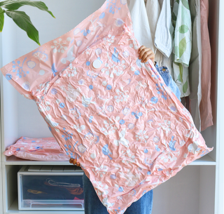 Set 10 túi hút chân không cất quần áo tiết kiệm không gian cho tủ kệ - INTL thumbnail