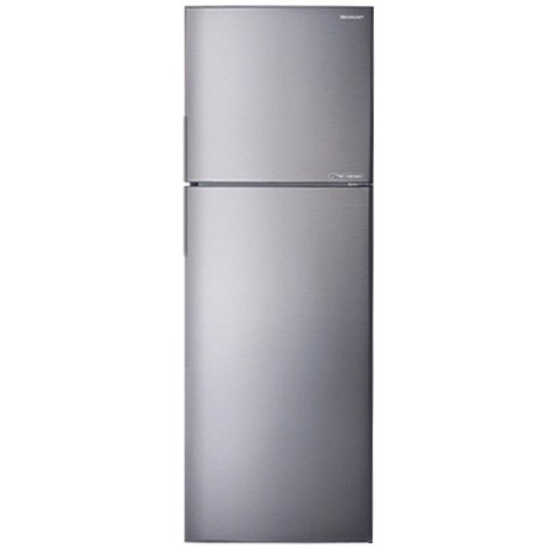 Tủ lạnh Sharp Inverter 253 lít SJ-X281E-DS - Inverter tiết kiệm điện, Ngăn kệ có thể thay đổi linh hoạt. Công nghệ kháng khuẩn khử mùi:Bộ lọc với các phân tử Ag+Cu. Kim loại phủ sơn tĩnh điện